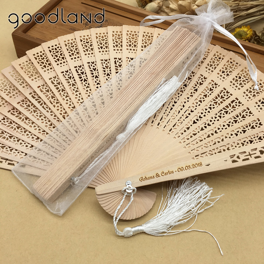 Amazon eBay custom chinese sandalwood wedding souvenir manual foldable <strong>wood</strong> fans wooden hand fan sticks with a pouch