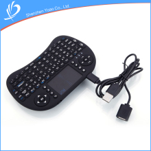 Lowest Price Portable Touch Screen Mini Wireless Keyboard Guangzhou Supplier