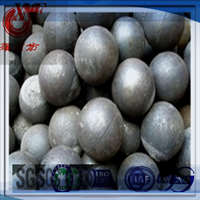 Chrome alloyed cast grinding balls hot sale in Africa