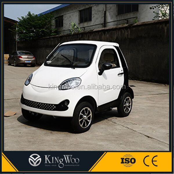 2 seats Green Environmental Electromobile Small Electric Car for Passengers