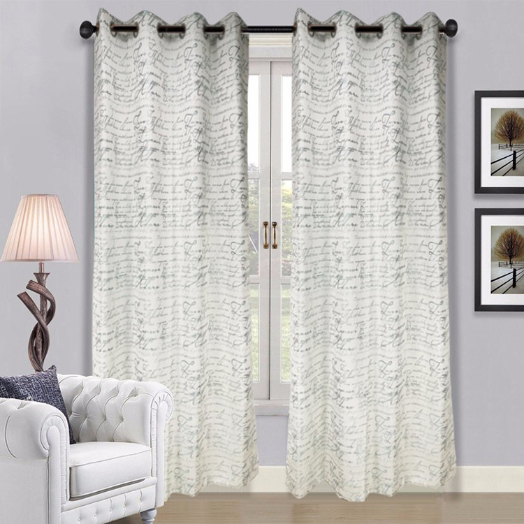 New Model Yard Dyed Design Custom Window Curtain for Bedroom