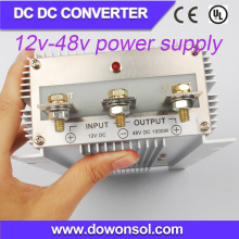 1000W plastic waterproof case 12v to 48v dc conveter power supply for charge