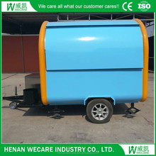 Fashionable Movable food beverage cart/truck/trailer with wheels