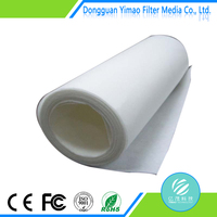 High quality air filter material waterproof fabric filter cloth,100% polyester air conditioning filter media