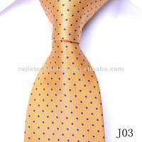 custom logo silk woven ties