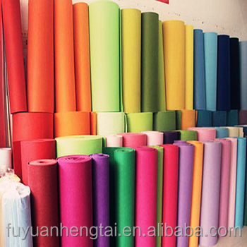 Hot sale felt/100 wool felt fabric/needle punched felt come with the lowest price