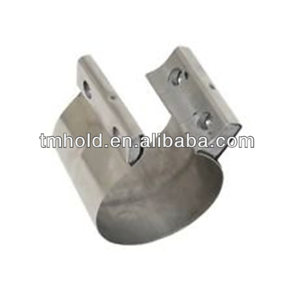 car make Pre-formed lap joint exhaust clamp