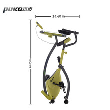 China Factory Professional exercise bike Gym Equipment Indoor magnetic Training bike with move computer table