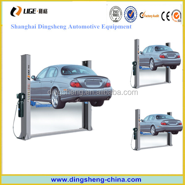 Two post hydraulic drive portable garage auto car lift