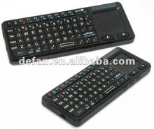 Ultra Mini wireless Bluetooth multifuction Keyboard with Touchpad, Laser pen for tablet pc/ipad/iphone