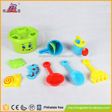 Simple and practical green security plastic children Sand Beach set beach sand toy