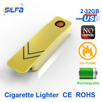 flash drive USB rechargeable metal Lighter 2012 new products on market