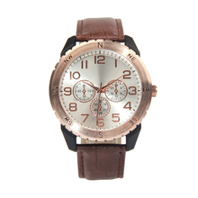 dual strap leather wrap watch fashionable watch leather band watches