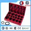 TC Rohs Certification 419pc High Quality Assorted Colored Rubber O Ring Manufacturer