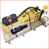 Korean quality box silence type hydraulic breaker for mini excavator