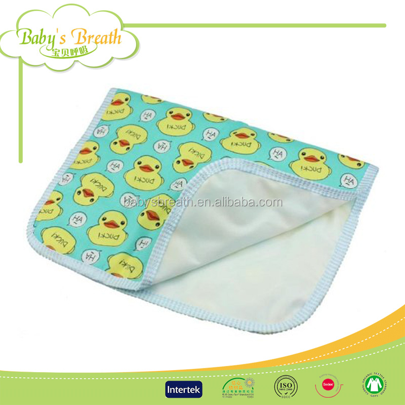 BCD016B 100% cotton brings healthy diaper changing pad cover, baby changing pad