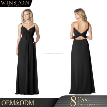 China factory OEM backless evening gowns for teenagers