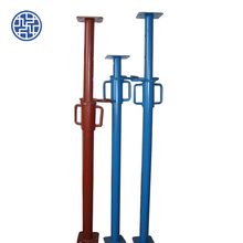 Construction building material safe scaffolding electro galvanized adjustable steel prop push pull prop