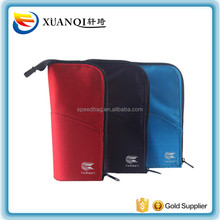 hot sale stand up zipper bag custom school pencil case