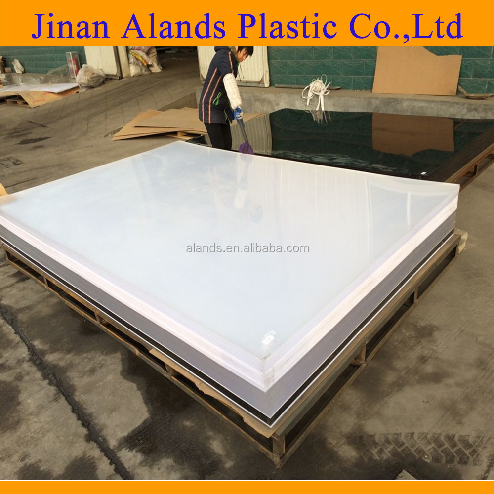 3-15mm anti-UV pleksi glass acrylic sheet
