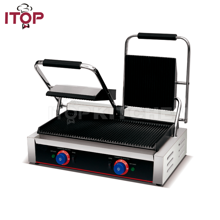 Commercial Sandwich Panini Grill/Panini Maker Machine