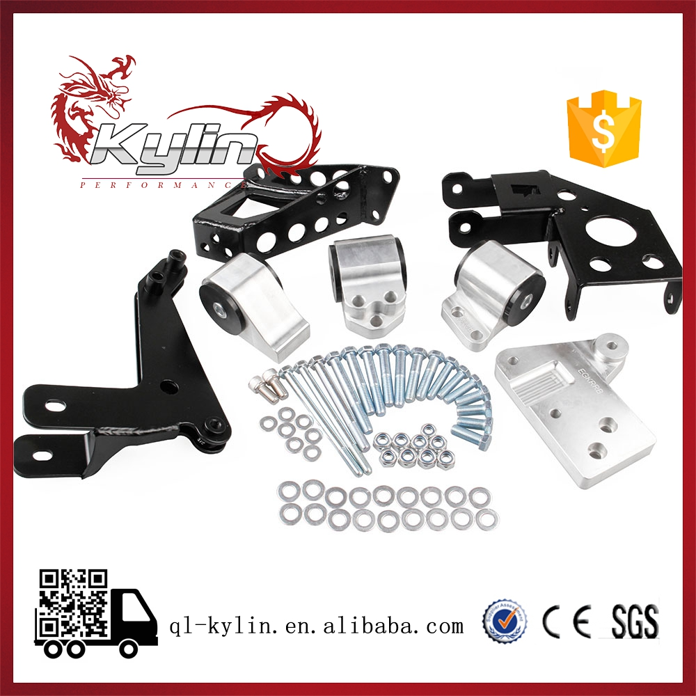 Kylin racing K-series ENGINE MOUNTS For CIV 92-95 EG K20 K24 K-SERIES EG MOTOR SWAP KIT