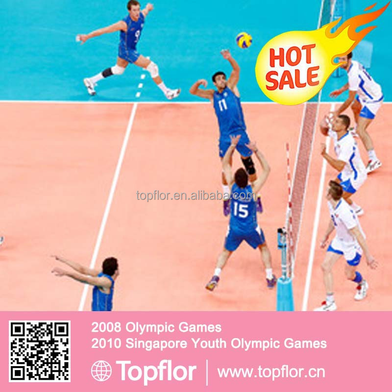 USED VOLLEYBALL FLOORING COURT SPORTS VINYL FLOORING
