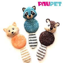 Fashionable professional chew puppy soft colorful dog pet dental animal plush pet toy dog