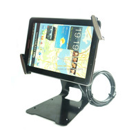 "Universal tablet lock Adjustable Tablet Anti-theft Security Display stand for 7-10.1"" inch tablet pc for samsung for lenovo"