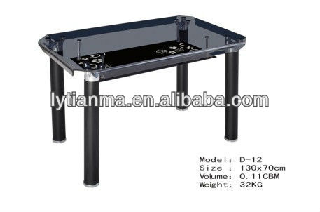 all hot bent strong structure tempered glass coffee table