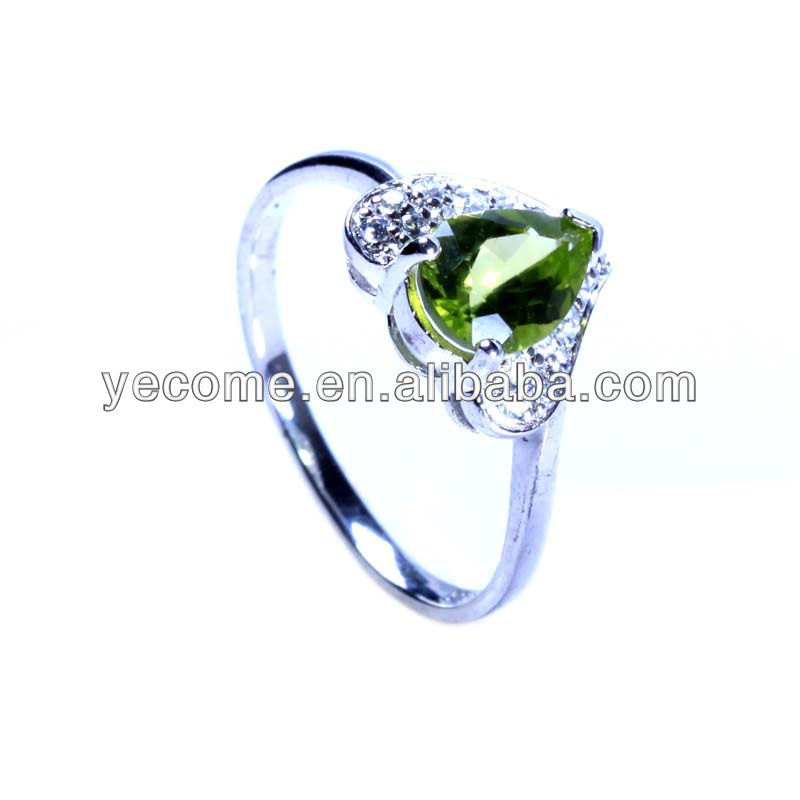 wholesale natural emerald ring rings
