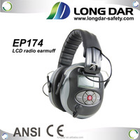 ROHS Electronic MP3 headphone ear muffs