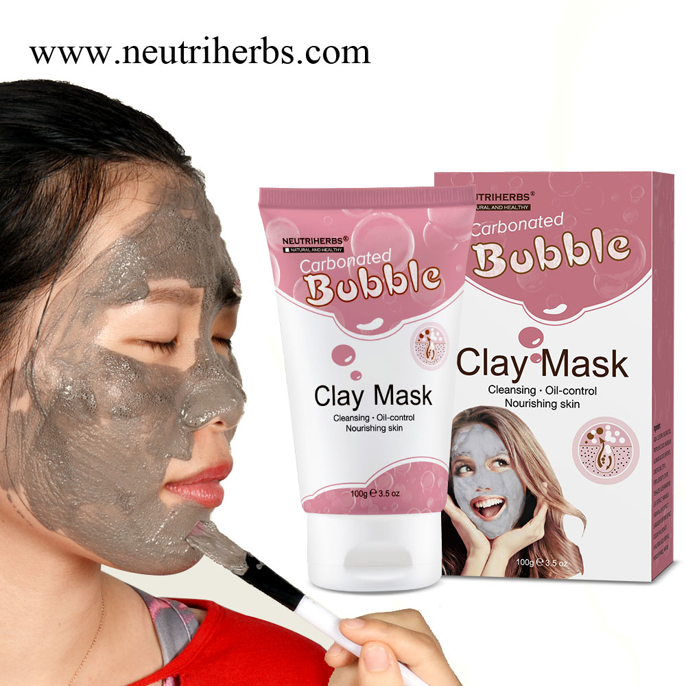Natural Dead Sea Mud Mask Oxygen Bubble Mask For Deeply Cleaning Carbonated Bubble Clay Mask