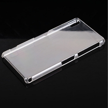 High Quality Slim PC Crystal Mobile Phone Hard Case For Sony Xperia Z2