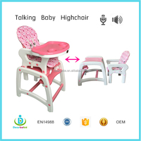 Dearbebe Baby Highchairs 3 In 1