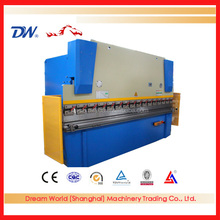 2016 high quality WC67Y-80T/3200 hydraulic press brake for flat bar bending machine