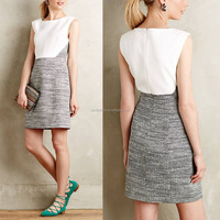 Alibaba fashion newest casual young ladies office dress