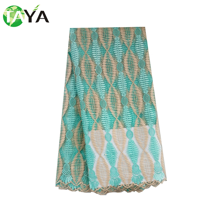 High Credibility Multi Color French Indian Bridal Lace Fabric