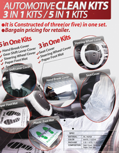 car protection kit( 5 items in one kit )