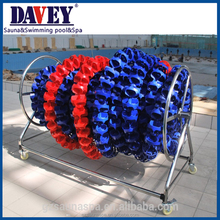 Davey standard lane line reel for swimming pool accessories