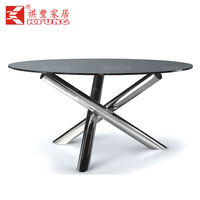 Banquet hall dining table