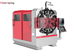 High quality 5 Axes Wire Rotating Spring Forming Machine spring roll machine