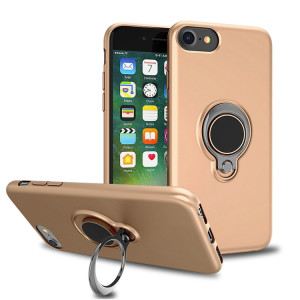 Free sample mobile accesorios para celulares 360 rotate ring holder soft tpu phone cover for iPhone 8 7 6 bumper case