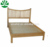 W-B-0028 solid pine wooden furniture guest wall bed with trundle