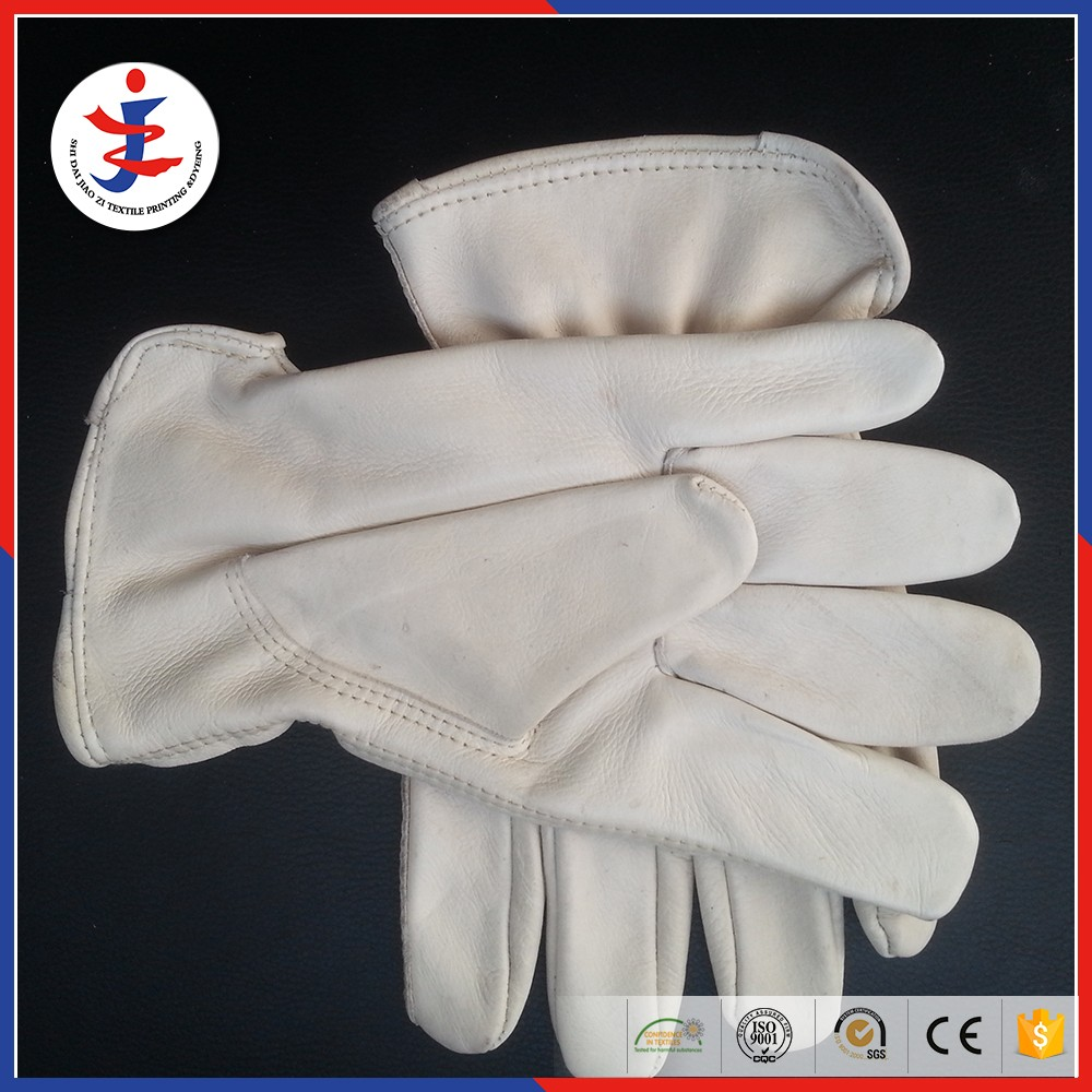 Skin colour gloves grain leather hand gloves importers
