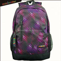 aibaba stripe printed sports style dry bag backpack