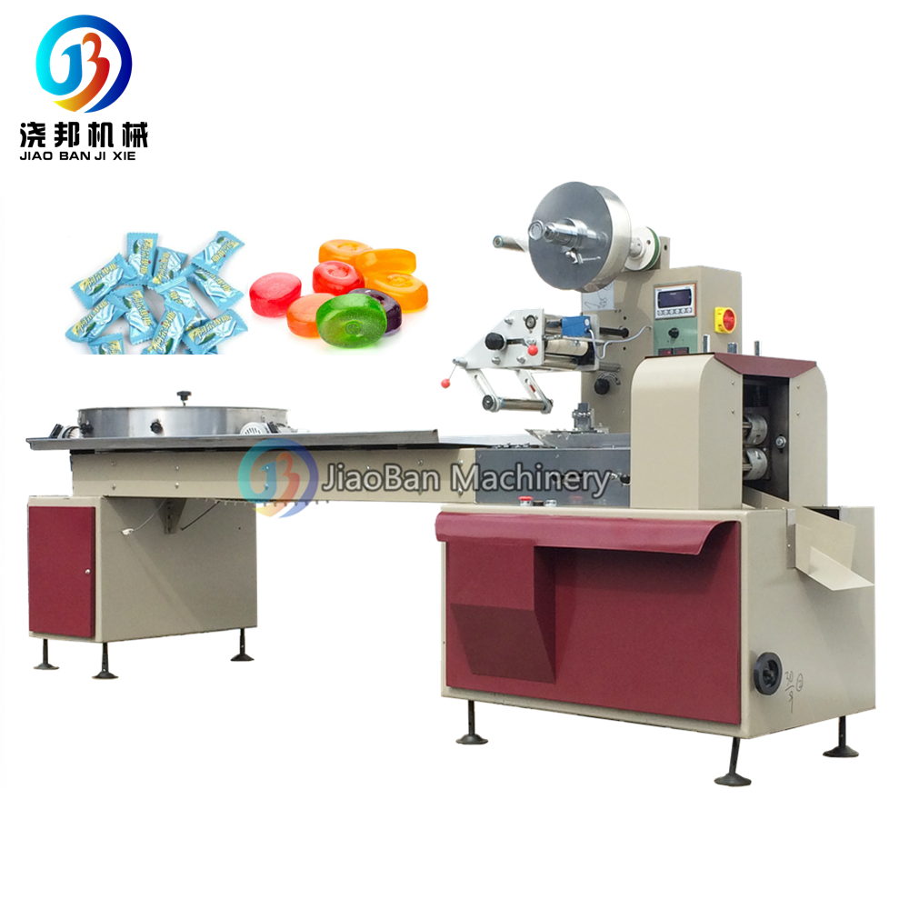 JB-800 Hard candy mint candy flow wrapping <strong>machine</strong> good price