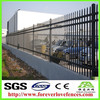 China Very Strong And Decorative Black Cheap Wrought Iron Fence aluminium fence