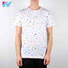 YIHAO OEM Men Clothing Manufactures Wholesale Custom Best Quality Printed White Men T Shirts With Colorful Points