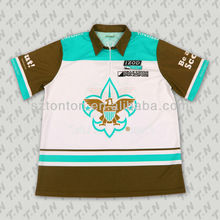 color block sublimation shirt custom made motorcycle